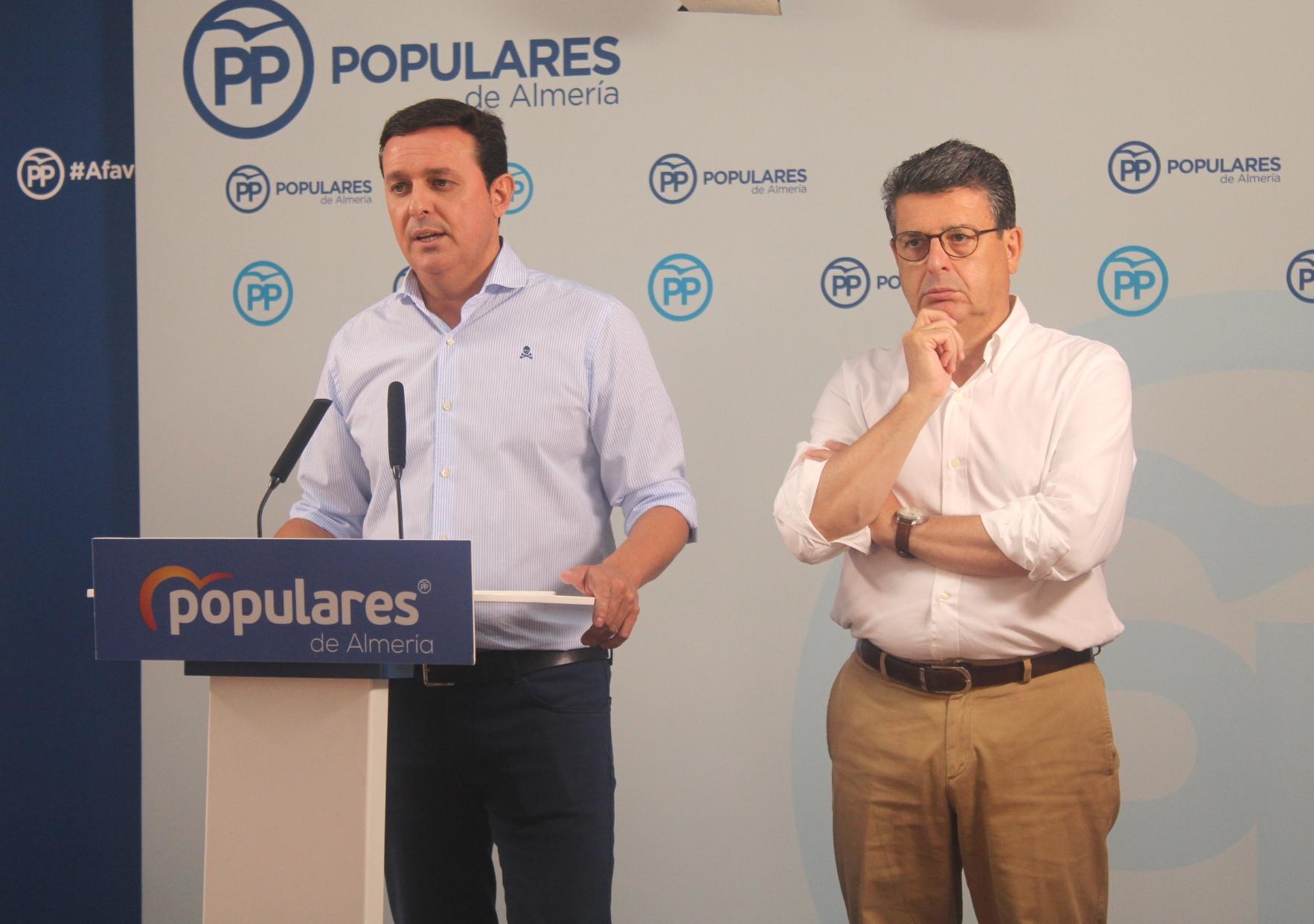 El PP pide al Gobierno la declaración de zona catastrófica para los municipios que han sufrido daños por las fuertes lluvias