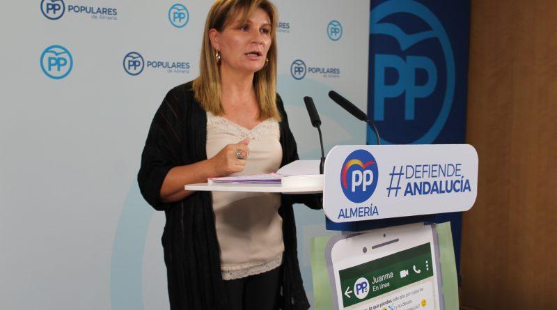 El PP de Almería inicia una campaña de recogida de firmas para exigir el pago de 1.350 millones que el Gobierno adeuda a Andalucía